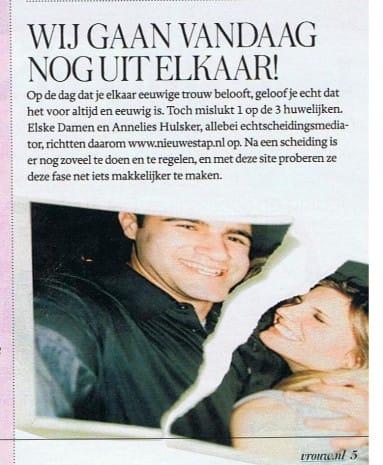 Vrouw De Telegraaf 6-7-2012