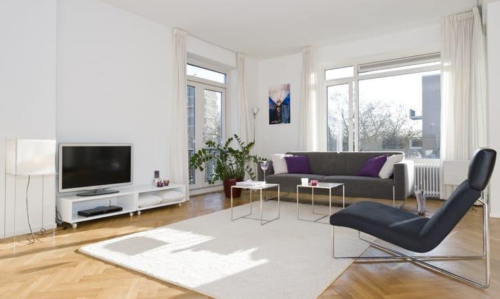Inspiratie woonkamer muurverf for Kleuradvies interieur