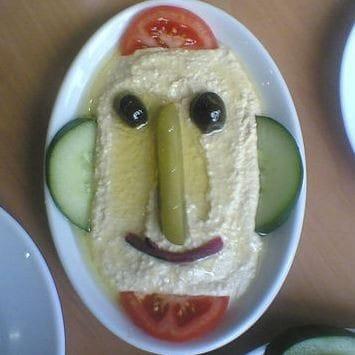 humus, tzatziki