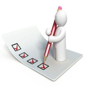 checklist voor een scheiding