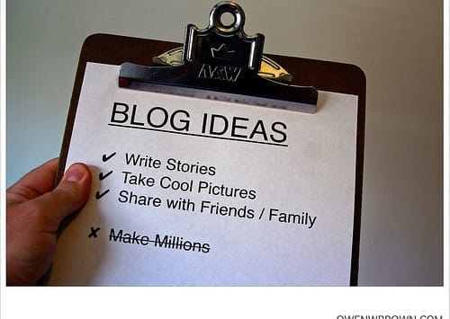 nieuwe blogger