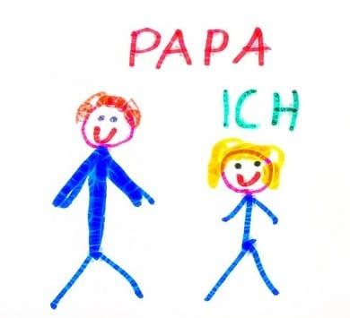 Alleenstaande papa