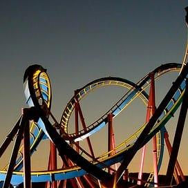 scheiden rollercoaster