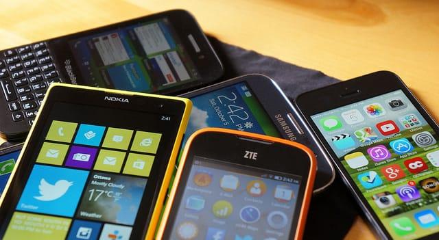 smartphone en scheiding