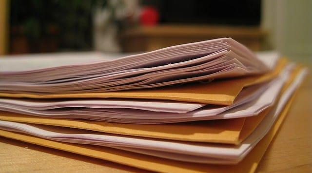 papierwerk en scheiding