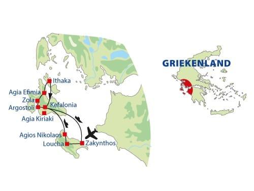 single rondreis Griekenland