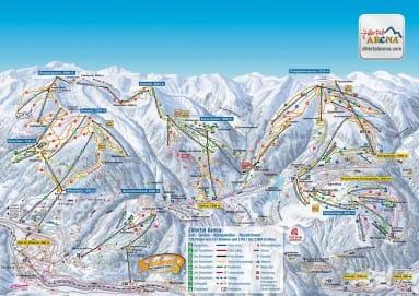 eenoudervakantie wintersport skiën.