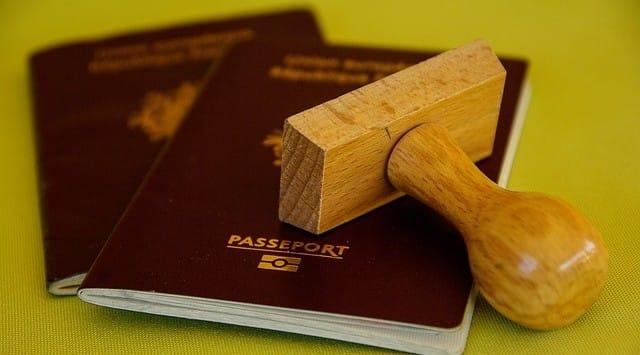 kinderen in paspoort