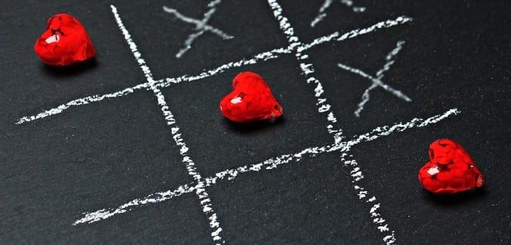 gescheiden en weer verliefd