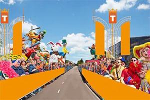 Koningsdag in Tilburg