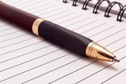 Dagboek als verwerking van je scheiding