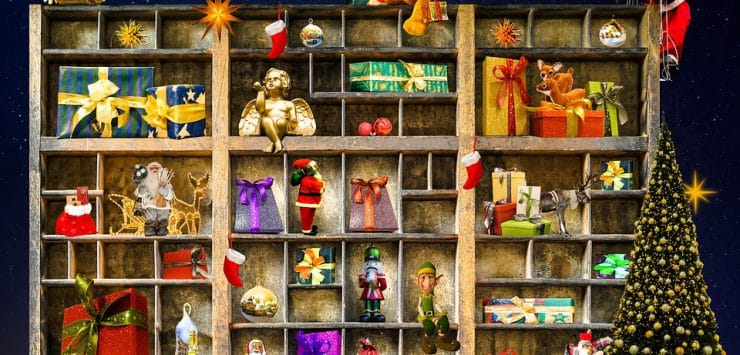 herinneringen met kerst