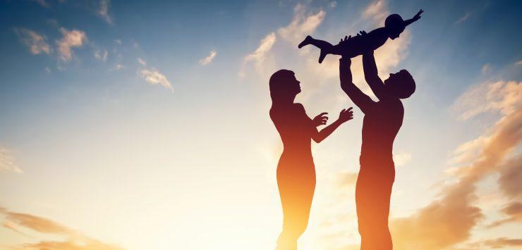 co ouderschap en hele jonge kinderen